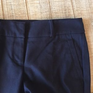 LOFT navy blue Julie skinny dress pant